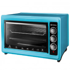 Мини-печь Delta D-0123 голубая