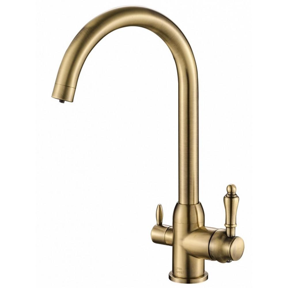Кухонный смеситель Steel Hammer SH 723 Bronze