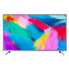 4K (UHD) телевизор Hyundai H-LED50EU7001 стальной